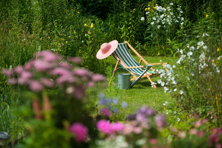 Gartenidylle im Schrebergarten