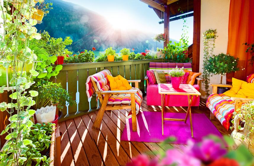Sichtschutz für Ihren Balkon