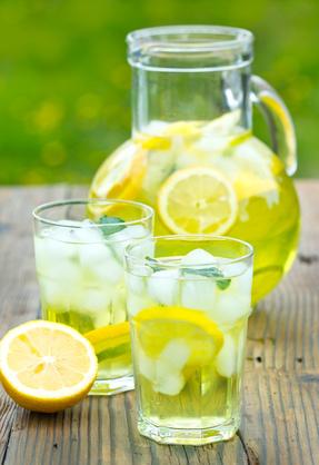 Eiskalte Limonade
