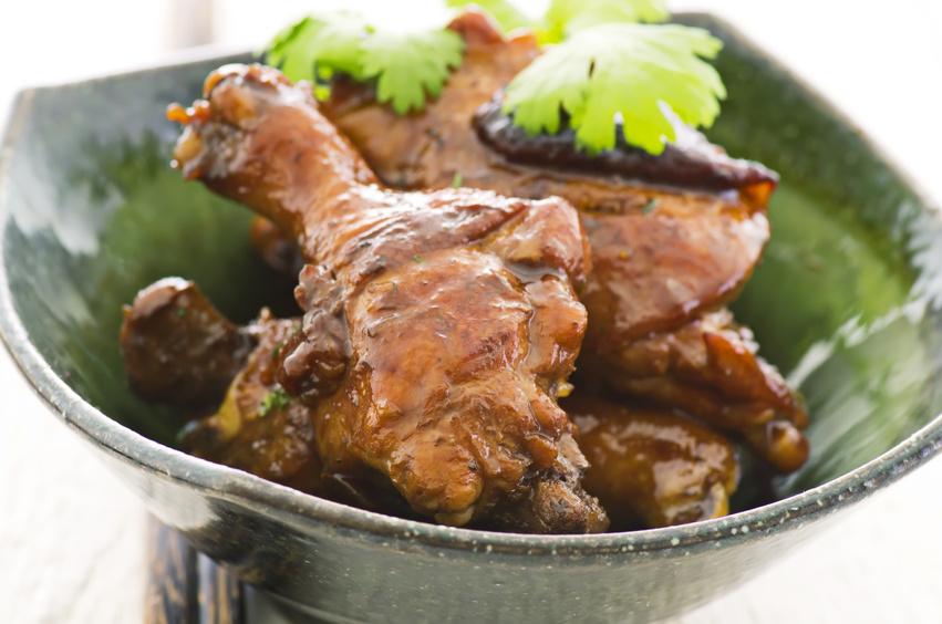 Soja-Wasabi-Hähnchen