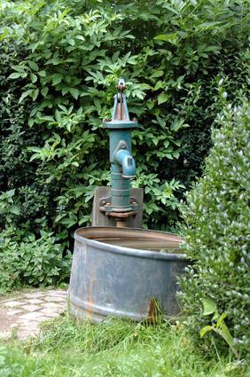 Brunnen für Trinkwasser