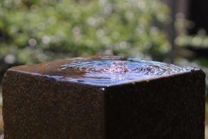 Wasserspiel Springbrunnen