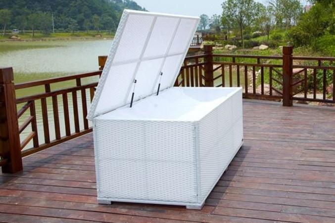 Gartenkissen weiße Box