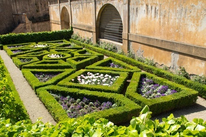 Beet im Renaissancegarten