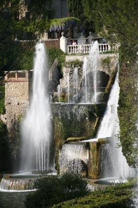 Wasserorgel der Villa Deste