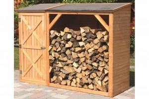 Kaminholzregal Holz